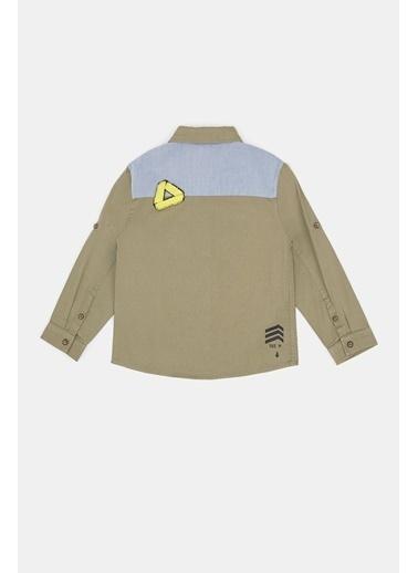 BG Baby Erkek Bebek Ekose Gömlek Renkli